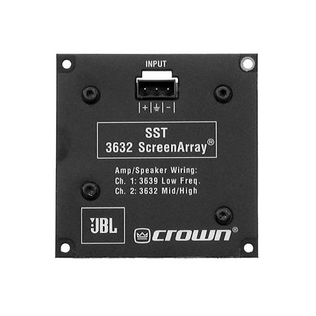 CROWN MODULE TRI-AMP CROSSOVER 1