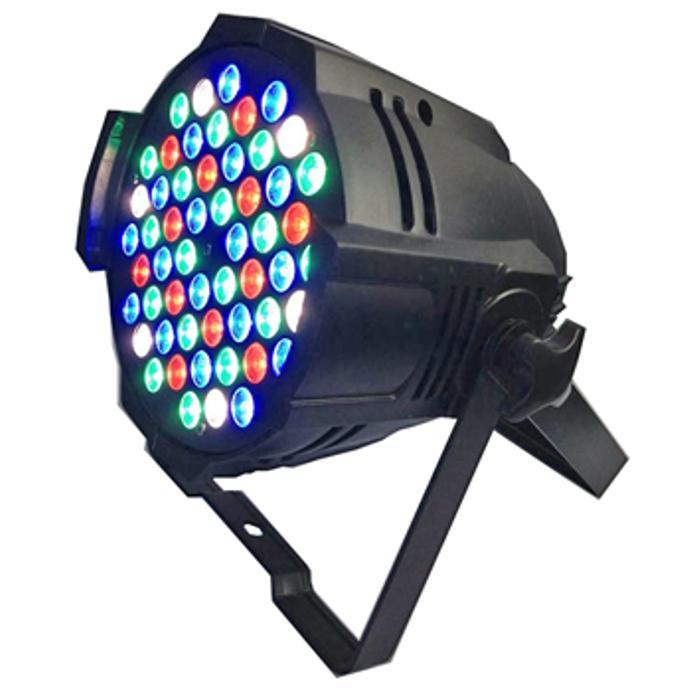 STARAY LED ΠΡΟΒΟΛΕΑΣ RGBW 54X3W BLACK IP 20 1