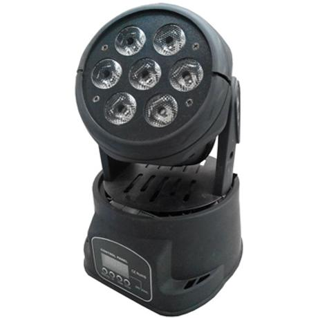 STARAY LED MOVING HEAD 7X10W RGBW BLACK