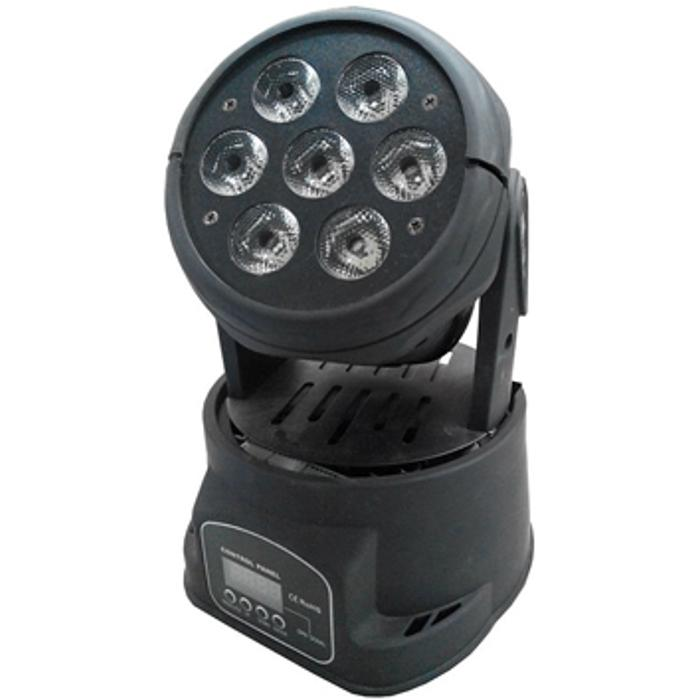 STARAY LED MOVING HEAD 7X10W RGBW BLACK
