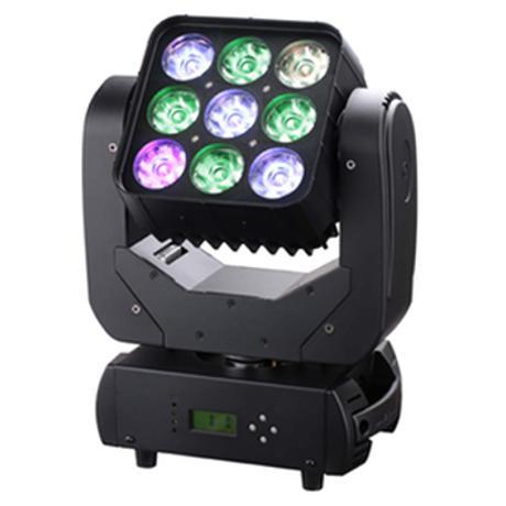 STARAY LED ΚΙΝΗΤΗ ΚΕΦΑΛΗ 4:1 RGBW 9X10W INDIVIDUALLY 1