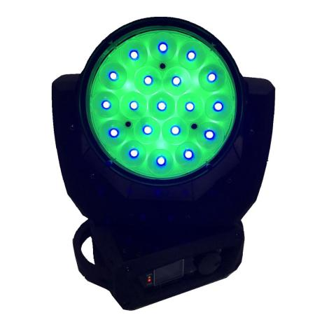 STAR TRIP LED WASH RGBW MOVING HEAD WITH 19X12W LEDS ZOOM 1