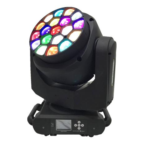 STAR TRIP LED WASH RGBW MOVING HEAD WITH 19X15W ZOOM 4°-60° 1