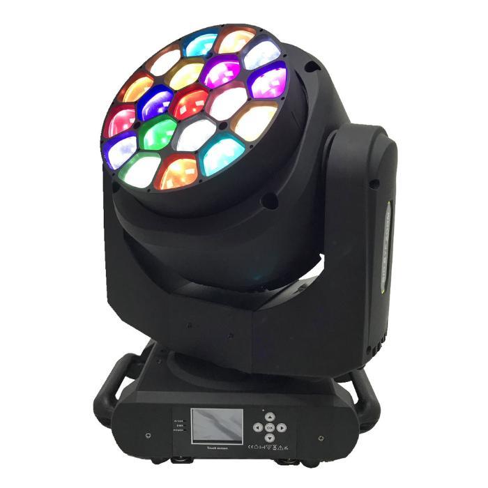 STAR TRIP LED ΚΙΝΗΤΗ ΚΕΦΑΛΗ RGBW ZOOM WASH 4-60 DEG 19X15W 1