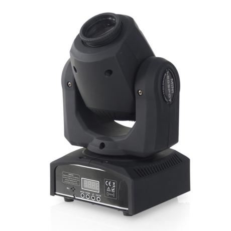 STAR TRIP LED SPOT MOVING HEAD, 30W ,8 COLORS ,8 GOBOS 1