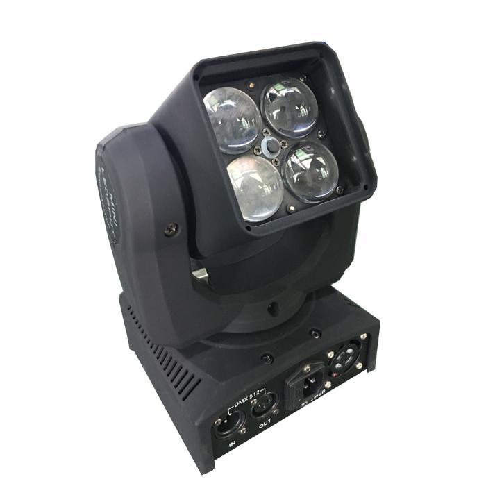 STARAY LED ΚΙΝΗΤΗ ΚΕΦΑΛΗ 4:1 RGBW 4X15W INDIVIDUALLY 1