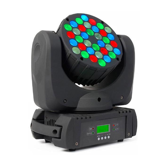 STAR TRIP LED ΚΙΝΗΤΗ ΚΕΦΑΛΗ 36X3W RGBW LEDS 8° 1
