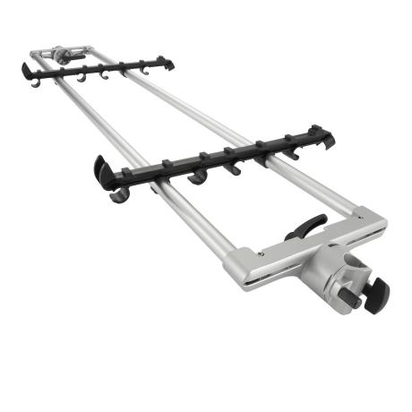 KORG KEYBOARD STAND EXTENTION MEDIUM SILVER 1