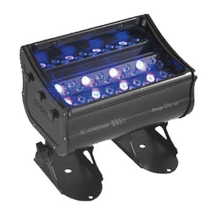 COEMAR LED COLOR CHANGER RGBW WITH 48PCS OF SEOUL LED'S. PROPORTIONAL ZOOM 11° - 34°,3 INDIPENDENT OPTICAL PLANES IP65 1