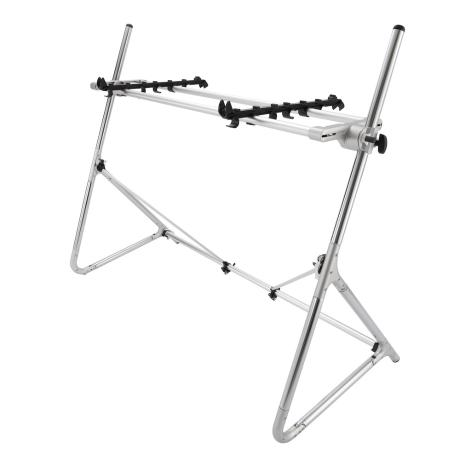 KORG KEYBOARD STAND MEDIUM SILVER