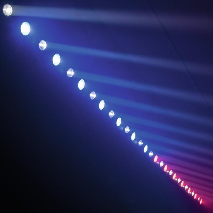 EUROLITE LED ΜΠΑΡΑ ΜΕ 7X3W-WW SPOT & 7X7W WASH TCL RGB 4
