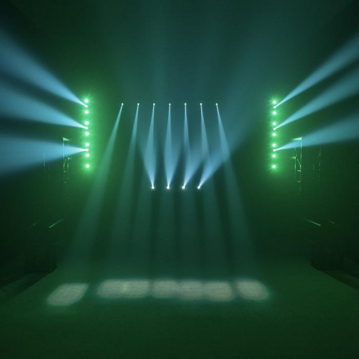 EUROLITE LED ΜΠΑΡΑ ΜΕ 7X3W-WW SPOT & 7X7W WASH TCL RGB 5