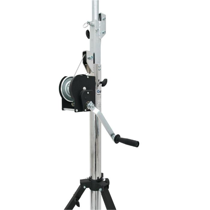 EUROLITE HIGH-QUALITY WINCH-STAND, MAX. LOAD 85kg, MAX. HEIGHT 400cm 2