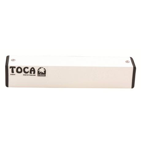 TOCA PERCUSSION SHAKER 4'' ALUMINIUM SQUARE WHITE 1