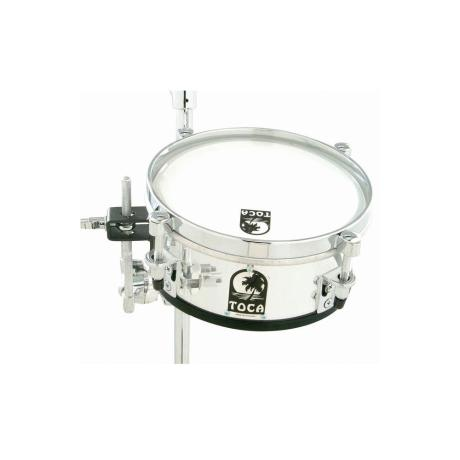 TOCA PERCUSSION MINI ACRYLIC TIMBALE 8'' CLEAR