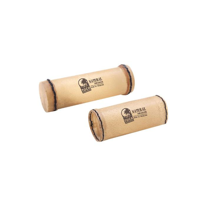 TOCA PERCUSSION SHAKERS NATURAL PAIR SMALL & LARGE 1