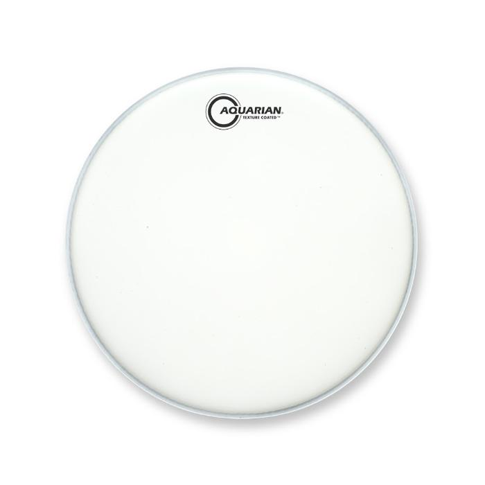 AQUARIAN 12'' DRUMHEAD SATIN FINISH WHITE 1
