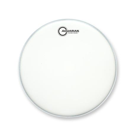 AQUARIAN 14'' DRUMHEAD SATIN FINISH WHITE 1