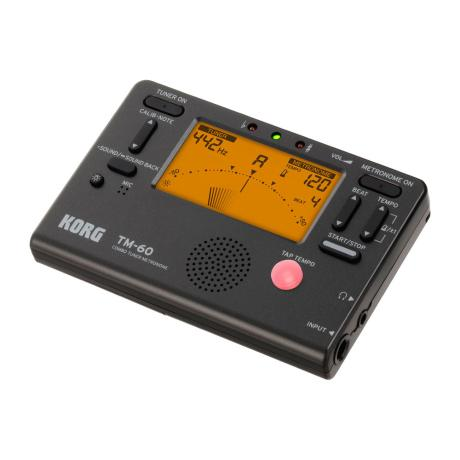KORG DIGITAL TUNER/METRONOME BLACK 1