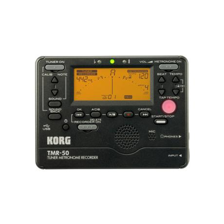 KORG DIGITAL TUNER/METRONOME RECORDER BLACK
