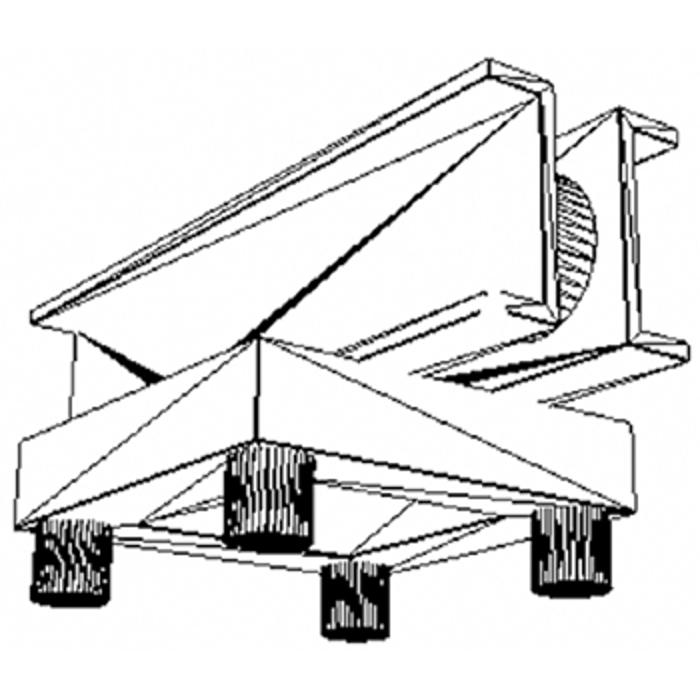 EUROTRUSS TOWER TOP FOR MOTOR CHAIN