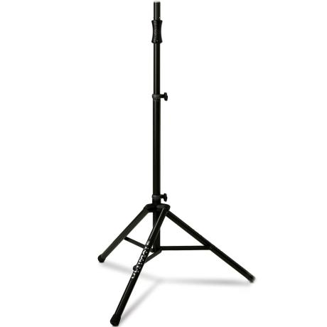 ULTIMATE LIFT-ASSIST ALUMINUM TRIPOD SPEAKER STAND WITH INTEGRATED SPEAKER ADAPTER
