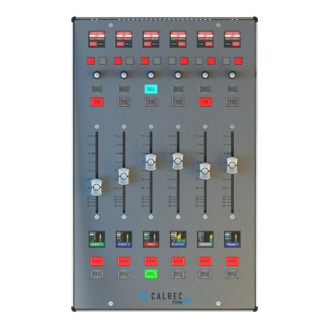 CALREC TYPE R 6 FADER DIGITAL AUDIO CONSOLE