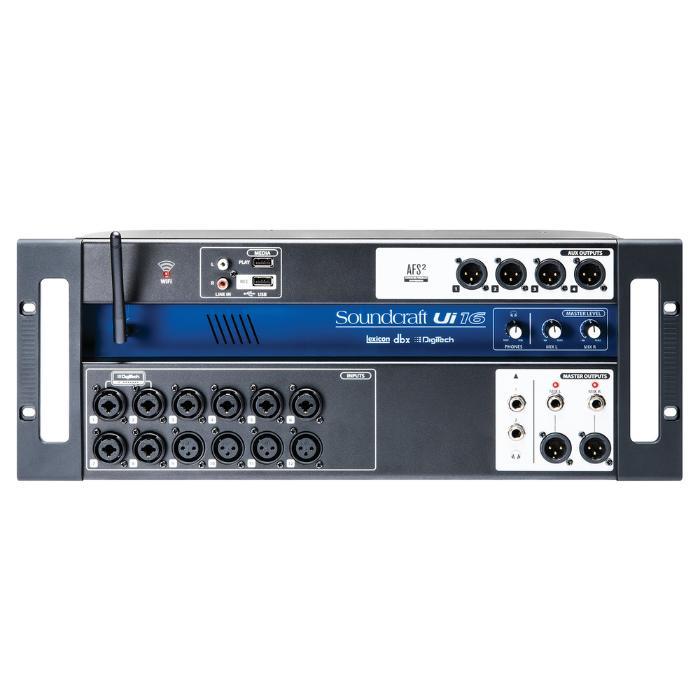 SOUNDCRAFT DIGITAL MIXING CONSOLE 12 MIC 1