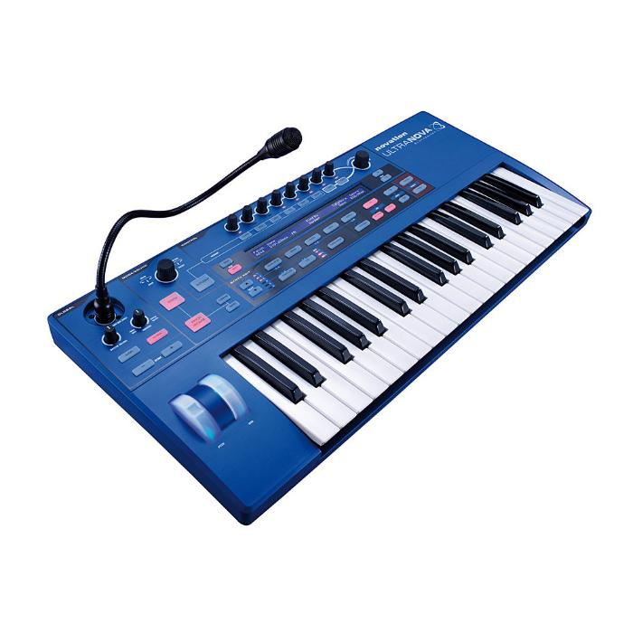 NOVATION SYNTHESIZER 37 KEYS AND S/W PLUG-IN EDITOR 3