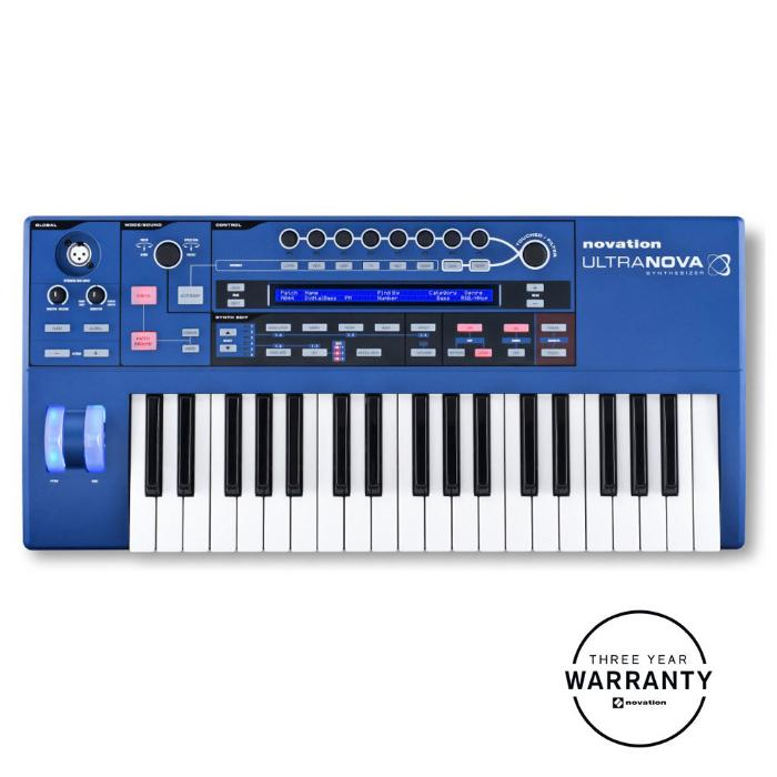 NOVATION SYNTHESIZER 37 KEYS AND S/W PLUG-IN EDITOR 1
