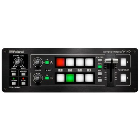 ROLAND 4 CHANNEL HD VIDEO MIXER FIX FORMAT 1