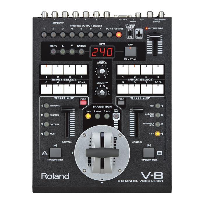 ROLAND 8-CH VIDEO MIXER-0