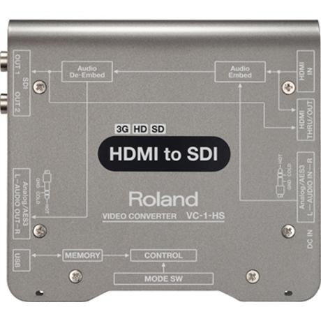 ROLAND HDMI TO SDI SD/HD/3G CONVERTER WITH EMB. AUDIO