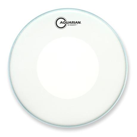 AQUARIAN HI-VELOCITY 13-INCH SNARE DRUM HEAD WITH DOT