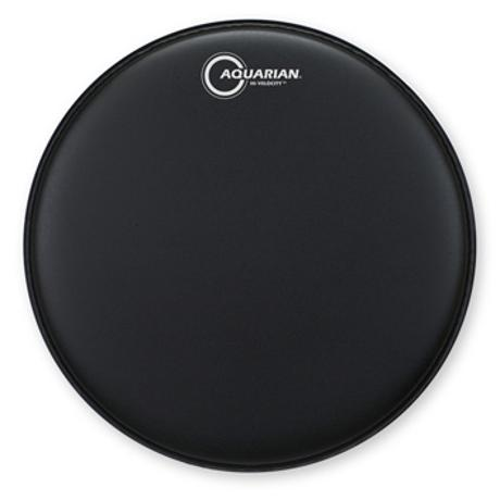 AQUARIAN HI-VELOCITY 13-INCH SNARE DRUM HEAD WITH DOT BLK