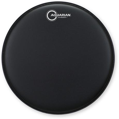 AQUARIAN HI-VELOCITY 14-INCH SNARE DRUM HEAD WITH DOT BLK 1