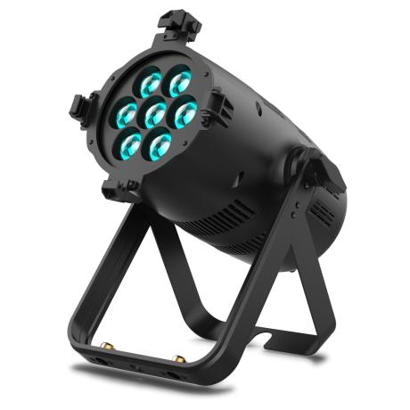 VARI-LITE ΜΑΥΡΟ LED PAR RGBW, 7X30W, ΜΕ ΜΗΧΑΝΙΚΟ ZOOM 6°-40°