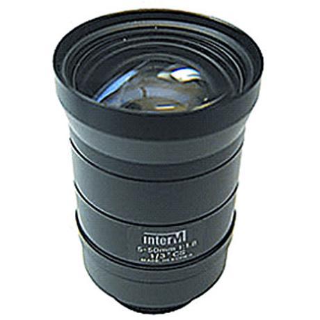 INTER-M VARIF.MANUAL IRIS LENS(5-50mm)