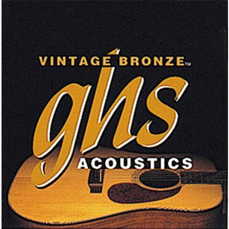 GHS ACOUSTIC GUITAR STRINGS VINT BRONZE 1