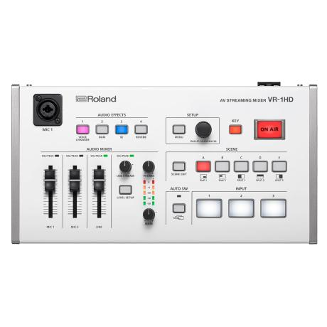 ROLAND PORTABLE AV STEAMING MIXER 1