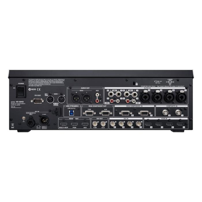 ROLAND MULTI FORMAT ALL IN ONE A/V HD MIXER-1