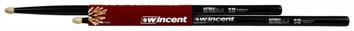 WINCENT HICKORY DRUMSTICKS 5B XL NATURAL BLACK