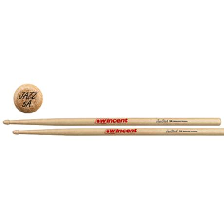 WINCENT MAPLE 5A HICKORY JAZZSTICK