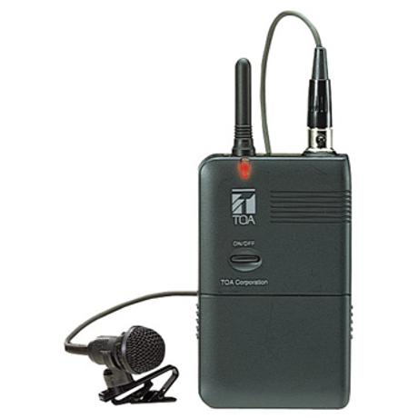TOA WIRELESS LEVALIER MICROPHONE