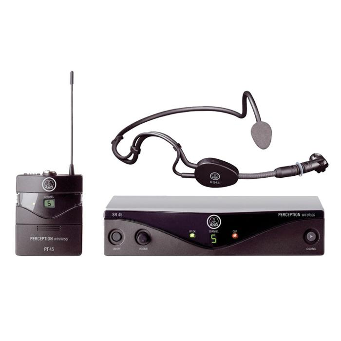 AKG HIGH PERFORMANCE WIRELESS MICROPHONE SYSTEM 1