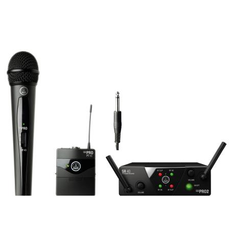 AKG WIRELESS MICROPHONE SYSTEM 2-BAND