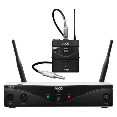 AKG WIRELESS MICROPHONE SYSTEM 8-BAND