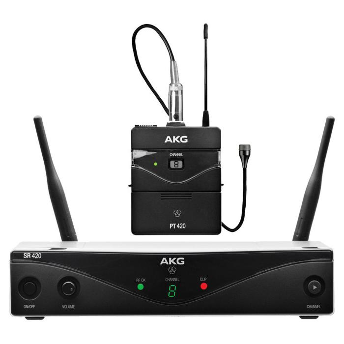 AKG WIRELESS MICROPHONE SYSTEM 8-BAND 1