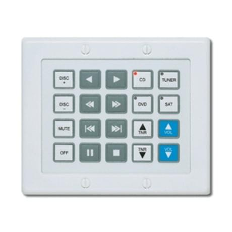 XANTECH WATERPAD-6 BANKS/14 FUNCTION BUTTONS 1
