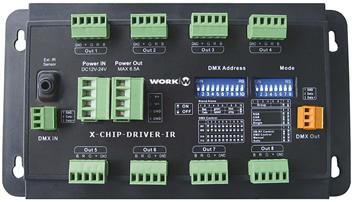 WORK IR LED CONTROLLED RGB 8X3A